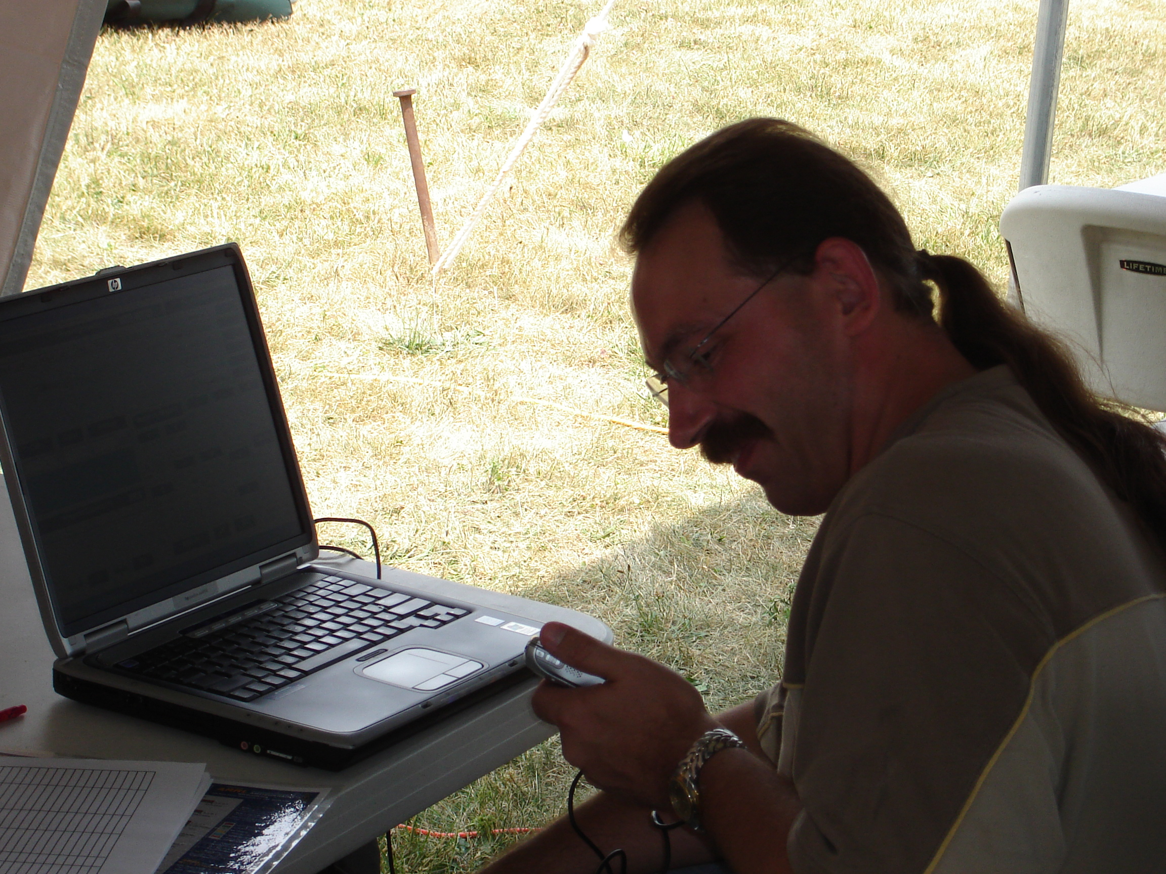Technician working on his General for 2009