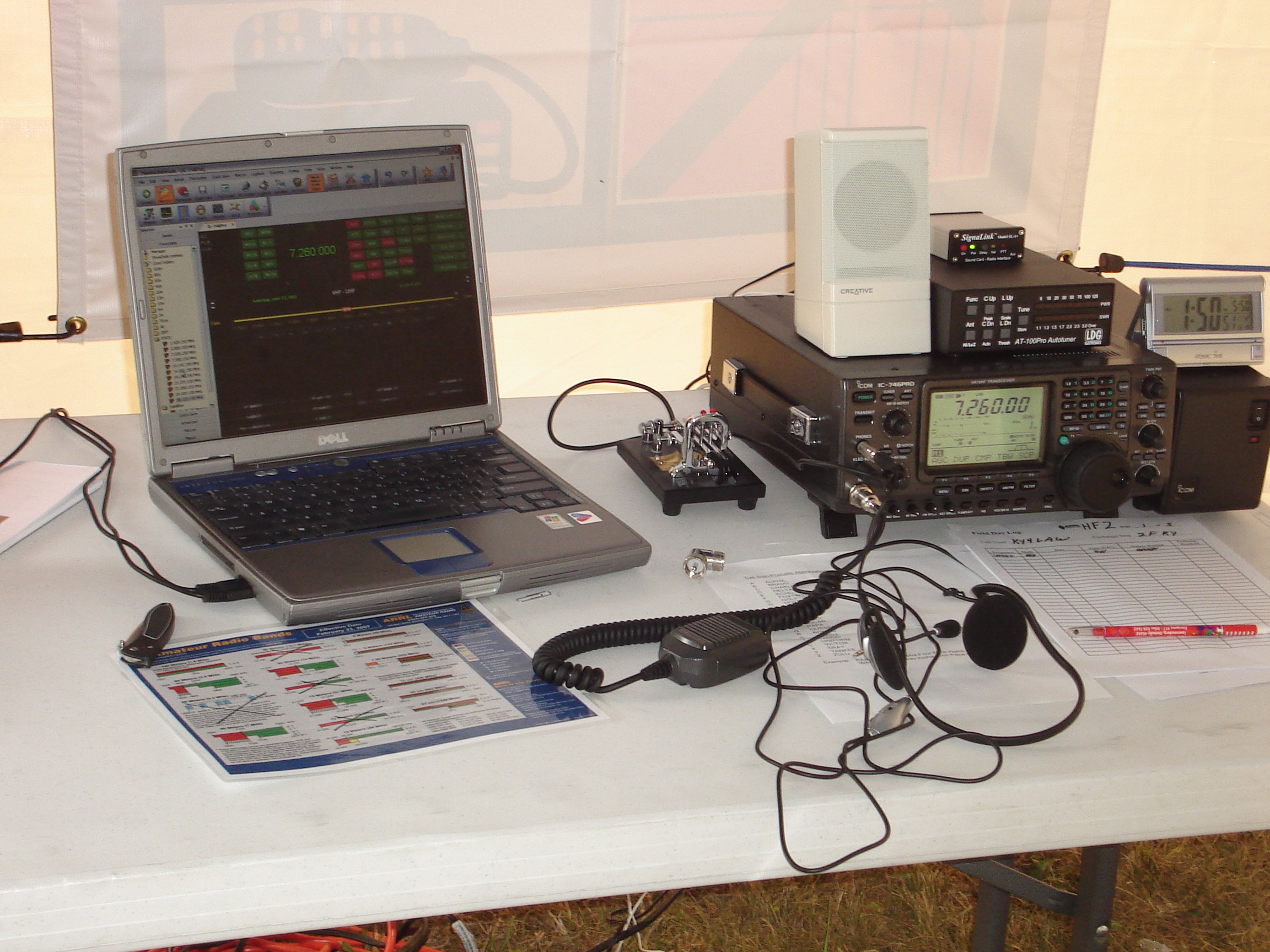 Digital Station at Field Day 2008