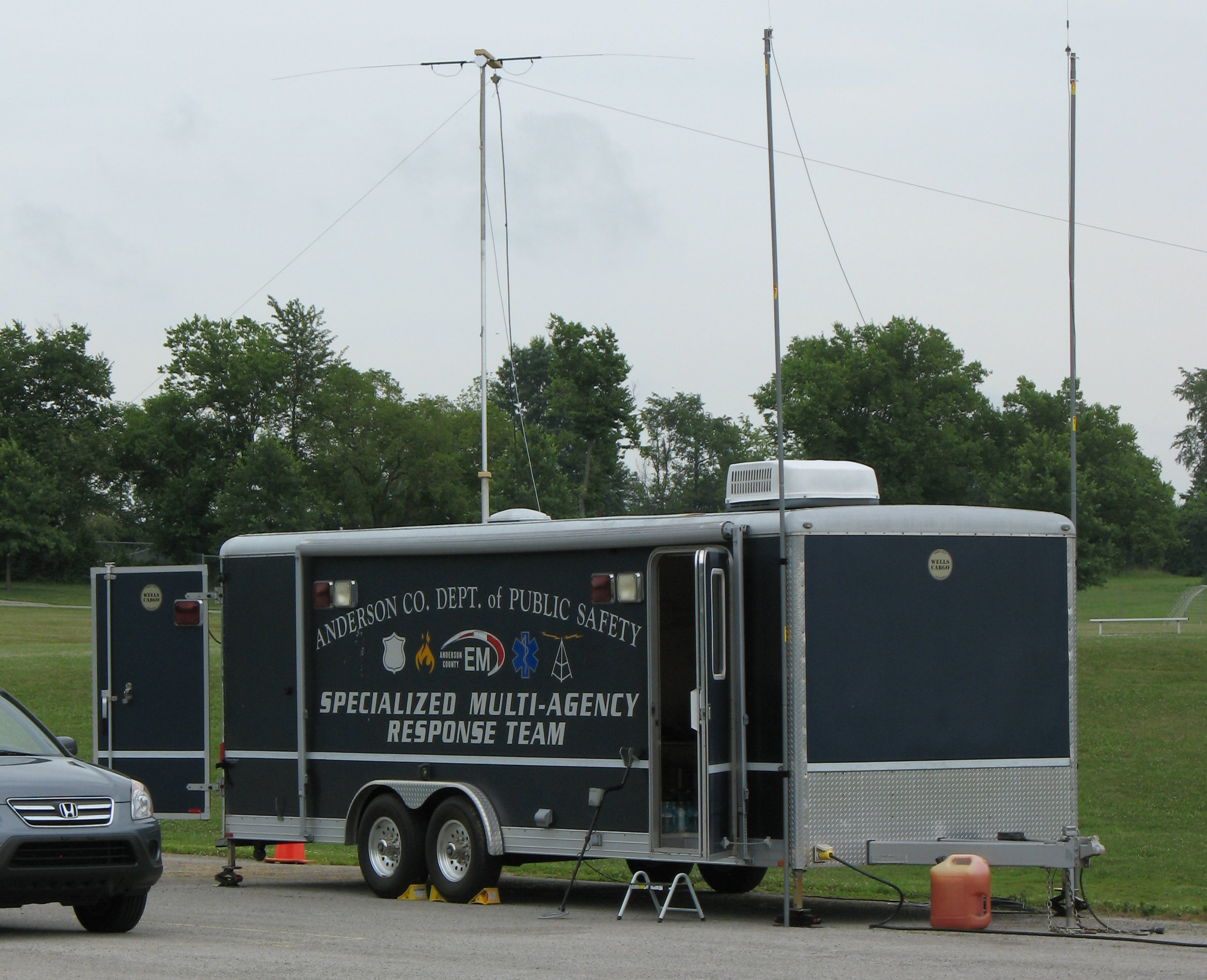 Anderson Co Communications Trailer
